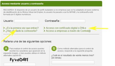 Como renovar tu tarjeta de empleo en el sae por internet for Inem horario oficinas