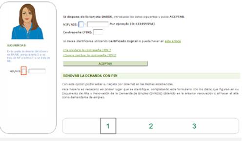Renovar demanda de empleo barcelona treball for Oficina de treball cita previa