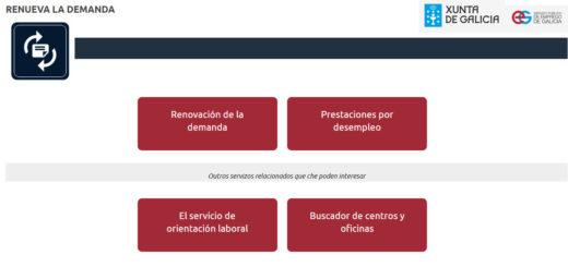 Procedimiento para sellar el paro Online en la Xunta de Galicia