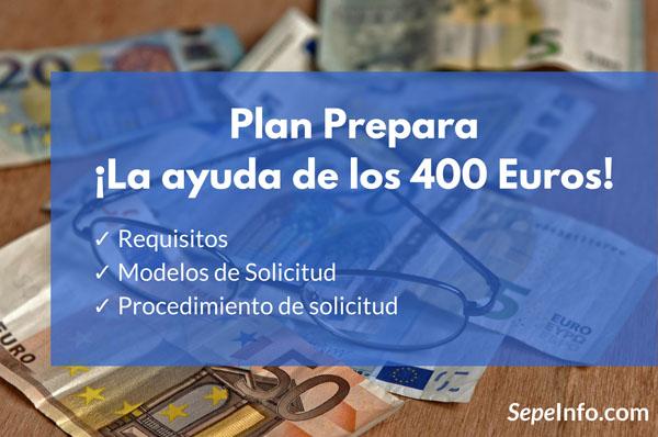 plan prepara, como solcitar la ayuda, modelos y requisitos