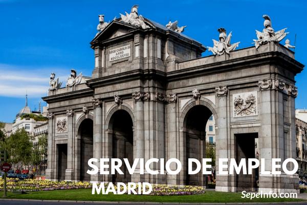 portal de empleo de la Comunidad de Madrid